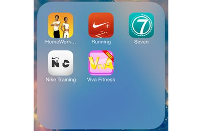 5 applications sportive