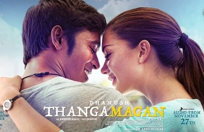 ♥ A golden love story with the soundtrack of Thangamagan ( 2015 ) ! ♥