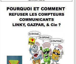 e collectif Stop Linky Bordeaux Métropole organise avec la Ligue des Droits de l'Homme une conférence débat sur les compteurs communiquants Linky, Gazpar et Aquarius
