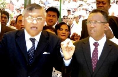 Madagascar présidentielle 2013: Robinson et Rajaonarimampianina officiellement au second tour