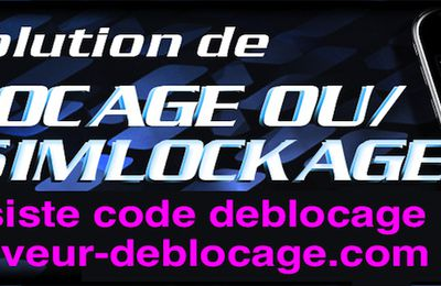 Deblocage Serveur IPhone Orange