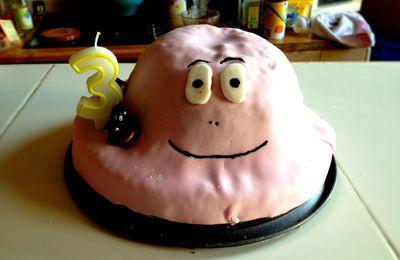 Un gâteau Barbapapa