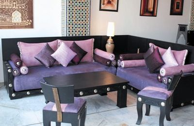 Salon Marocain : Moderne, Design et Traditionnel, Salon ...