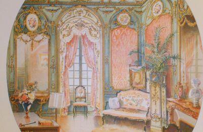 Ad Simoneton. Magnifiques Aquarelles sur la Décoration d'intérieur .