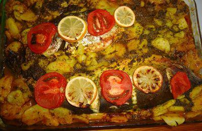 Saumon et dorade au four