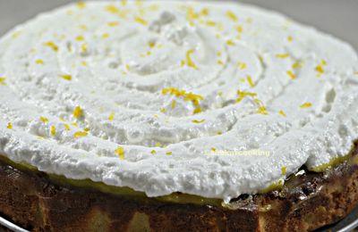 Poke cake au citron