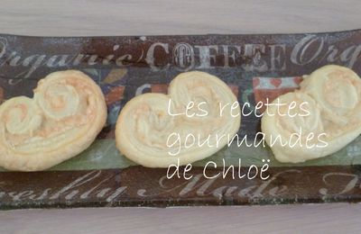 Palmiers au fromage