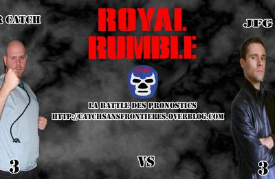La Battle des Pronostics (Saison 2): WWE Royal Rumble