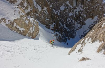"Couloir ""2012"" au Kizilin Baci"