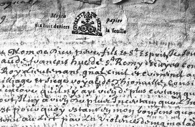 1679 – Thionville – Le testament de Claude François Hue Saint-Rémy