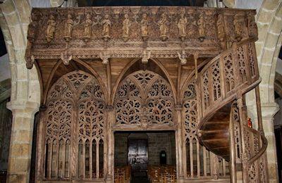 Jubé de la chapelle de Lambader