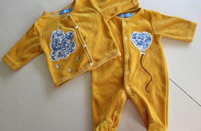 Du jaune curry pour un bébé surprise