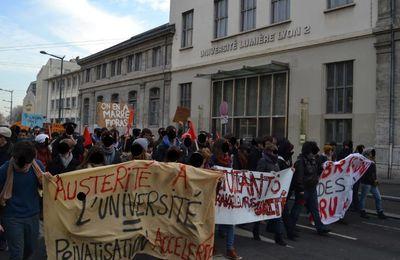 Face à la répression : solidarité avecles inculpés de Solidaire-étudiant-e-s Lyon