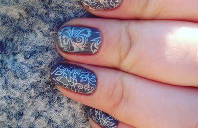 Nail Art inspiration tapisserie