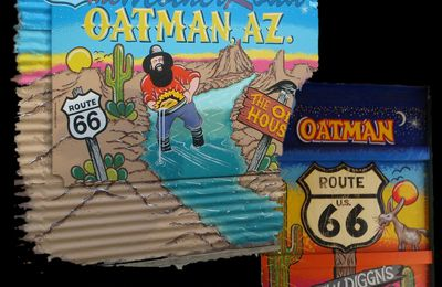 Quelque part en Arizona. Oatman