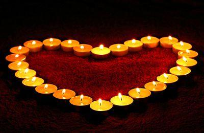 Amour et feu, citation de La Rochefoucauld