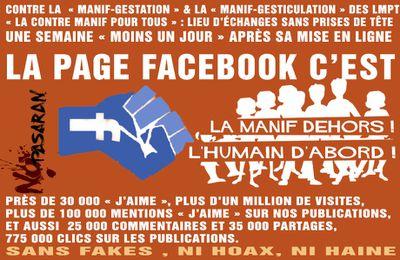 La Contre Manif pour tous sur Facebook