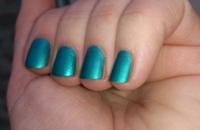 Teal chez Barry M