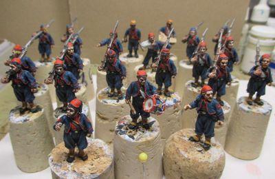 """1861, année des préparatifs à la guerre civile américaine ou ACW -épisode 15: (Les zouaves du 11th New York Regiment ou"""" first fire zouave"""")"""