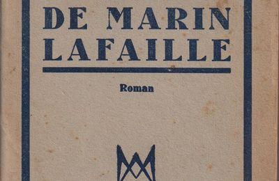 """J.-H. Rosny Jeune """"Le Destin de Marin Lafaille"""" (Albin Michel - 1945)"""