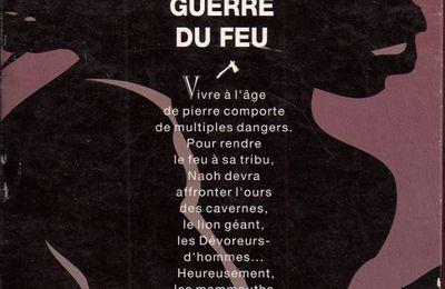 """Coffret """"La Guerre du Feu"""" de J.-H. Rosny aîné / """"Le Paléolithique"""" de Sylvie Decaux (Hachette Jeunesse - 1994)"""