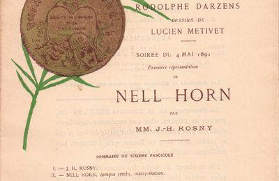 Le Théâtre Libre Illustré n°6 : Nell Horn (1891)