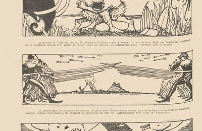 """Fanny Clar """"La Guerre à travers les âges"""" (1922)"""