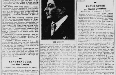 """Critique de """"Les Plaisirs passionnés"""" par Claude Pierrey (1929)"""
