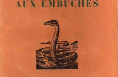 """J.-H. Rosny Jeune """"La Contrée aux embûches"""" (Crès - 1929)"""