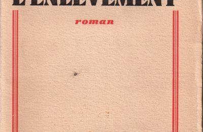 """J.-H. Rosny Jeune """"L'Enlèvement"""" (Ferenczi - 1930) [Dédicacé]"""