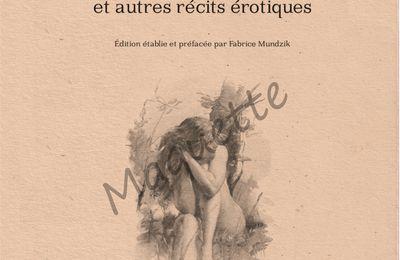 """PREVIEW : J.-H. Rosny aîné """"Fables Antiques et autres récits érotiques (Bibliogs)"""