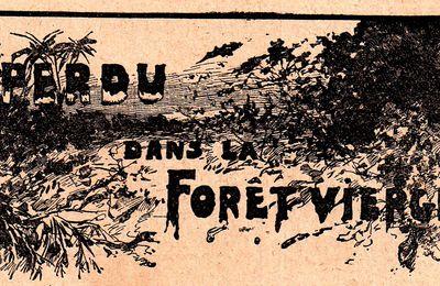 """Henri Renou """"Perdu dans la forêt vierge"""" (1915)"""
