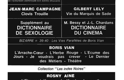 """Publicité pour """"L'Etonnant voyage de Hareton Ironcastle"""" (Pauvert - 1966)"""