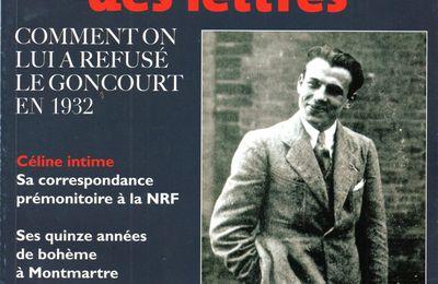 DOSSIER : Céline et le Goncourt 1932