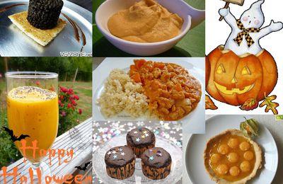 Menu VG du vendredi 25 octobre - Halloween!