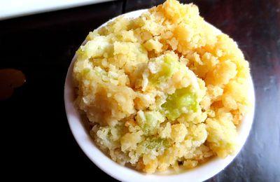 Recette : Crumble pommes/kiwis !