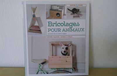 J'ai reçu le livre Bricolages pour animaux pour faire des DIY !