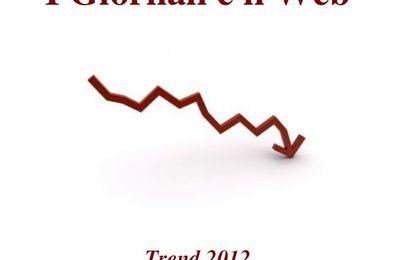 Giornali quotidiani e web - rapporto 2012