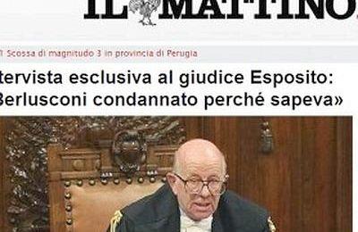 Esposito Berlusconi e il giornalismo da italietta balneare