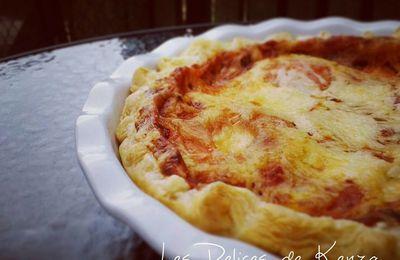 Tarte Tomate Mozarella