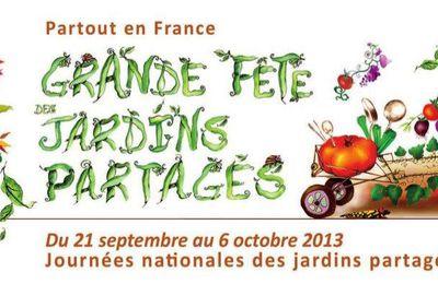 Initiative en transition : Grande fête des jardins partagés.