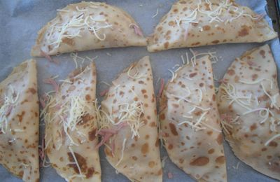 Crepes au fromage
