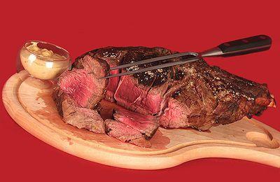 Côte de bœuf, sauce béarnaise