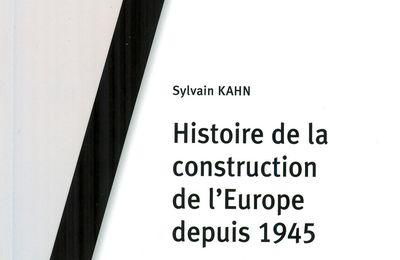 Histoire de la construction de l'Europe