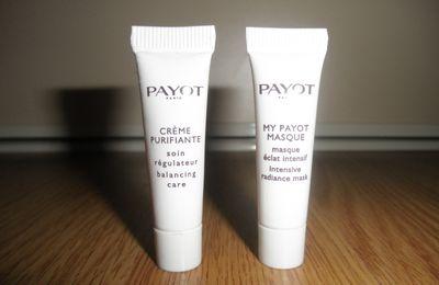 Payot, deux produits à l'essai