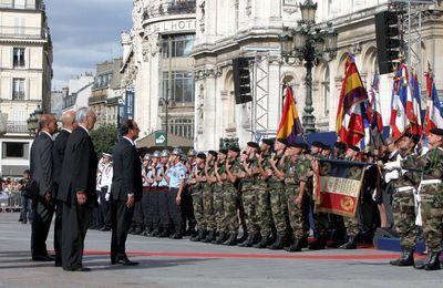 Pour une véritable reconnaissance officielle des républicains espagnols. Nous attendons le 25 août 2014 que le Président de la République rende l'hommage que la France n'a jamais rendu depuis 70 ans.