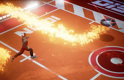 Disc Jam : La perfectipn du gameplay contre la froideur inerte de l'envrionnement