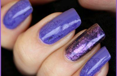 Robe violette!