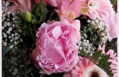 Bouquet in rosa
