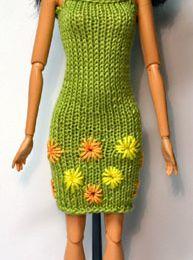 Quand les aiguilles habillent Barbie